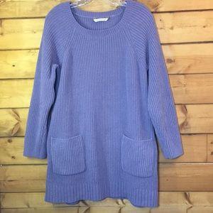 Soft Surroundings   Cozy Chenille Pullover Purple